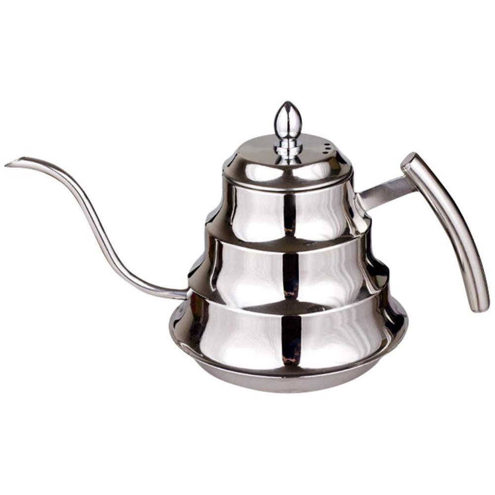 Acquisto SODIAL Kitchen Teiera da caffè in Acciaio Inossidabile, Tazzina da caffè, Caffettiera da 1,2 Litri Prezzi offerta