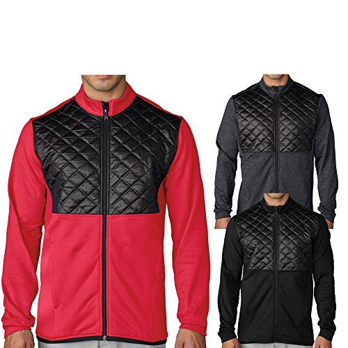 Adidas Mens Climaheat Prime Quilted Full Zip Jacket
