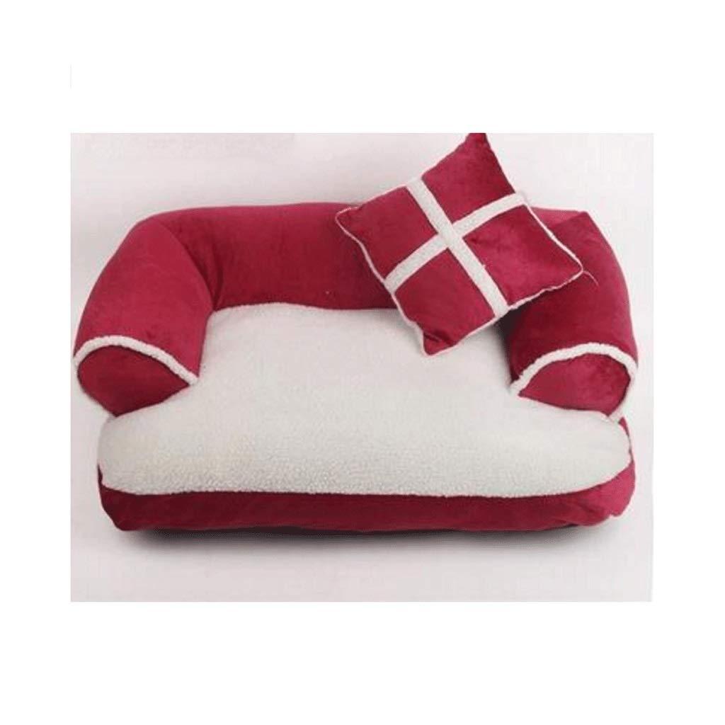 MMAWN ペットヘビーデューティーペット用ベッドまたはベッドカバー、取り外し可能&洗えるカバー/ジッパー、交換用カバー付きベッド全体を購入する(3サイズ) (Size : 80*60cm)  80*60cm