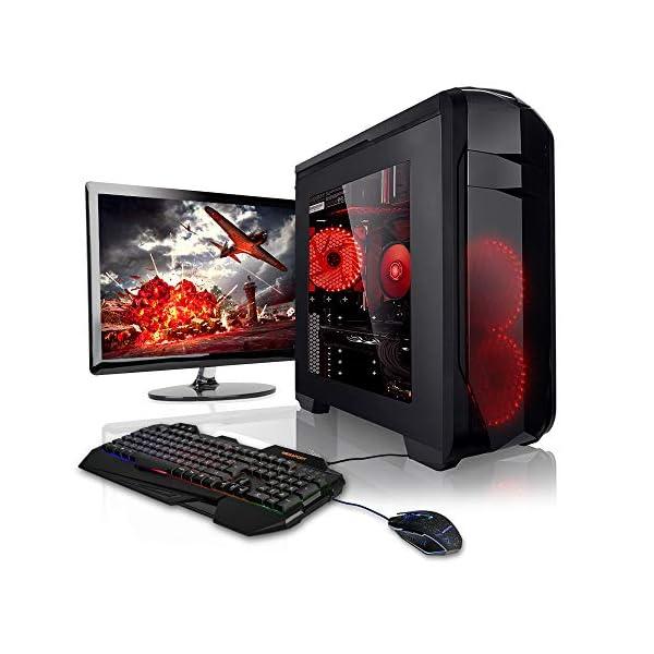Megaport Gaming PC Bundle Desktop • AMD FX-6300 6x3,50GHz • Nvidia GeForce  GTX1050Ti • 22