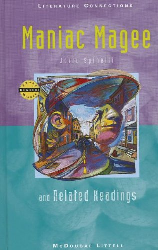 Holt McDougal Library, Middle School with Connections: Individual Reader Maniac Magee 1996