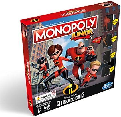 Hasbro Monopoly jr los increibles: Amazon.es: Juguetes y juegos