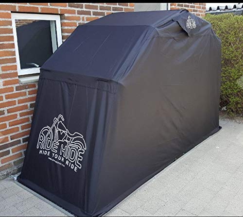 Ridehide Breathable Motorcycle Cover | Non-contact and fully vented protection only cover with glued and taped seams