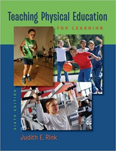 amazon teaching physical education for learning judith rink
