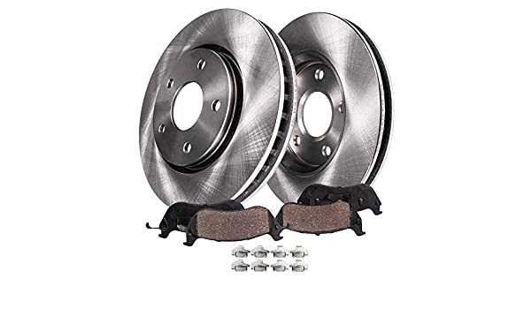 Front Brake Rotors for 2005 2006 2007-2011 Ford Mustang 4.6L 2011-2014 3.7L