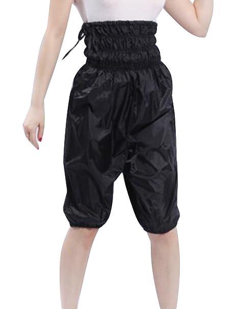 Deportes Ejercicio adelgazamiento pantalones de chándal peso Sauna ...