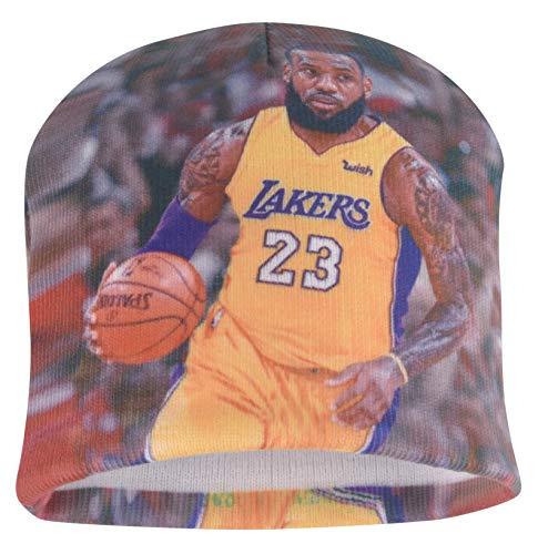 Forever Fanatics Cleveland Lebron James #23 Basketball Beanie ✓ Digital Graphic Printing ✓ Pefect Basketball Fan Gift (One Size Fits All, Lebron James #23)