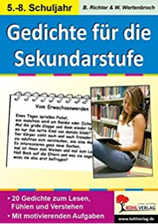Gedichte für die 5. und 6. Klasse: Anregungen für die Praxis: Amazon ...