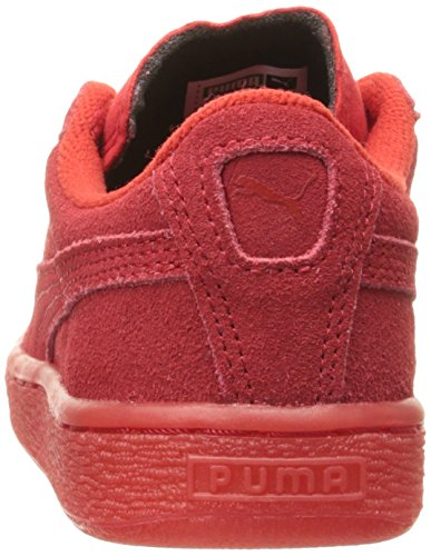 Puma High Risked Black White Suede Youths Trainers High Risk Red/White
