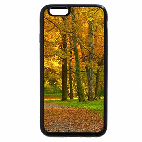 iPhone 6S Case, iPhone 6 Case (Black & White) - Silent Garden