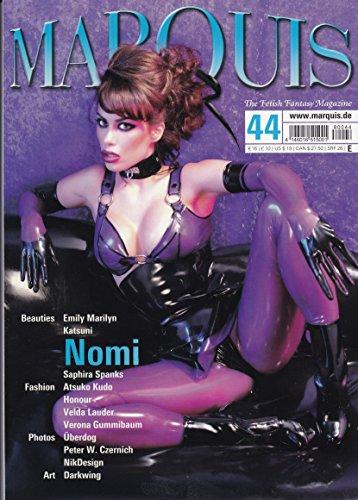 JUNE 2008 MARQUIS MAGAZINE NO.44 COVER MODEL NOMI FERNANDES NEW ()