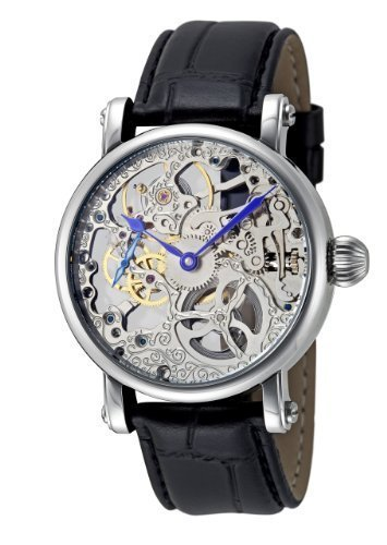 Rougois Hand Wind Decorated Skeleton Movement Watch - Skeleton Movement