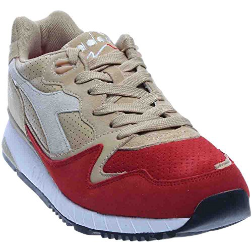 Diadora V7000 Premium Mens Sneakers Grey;orange