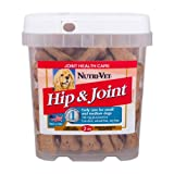 Nutri-Vet Hip and Joint Lamb and Rice Flavored Wafers with Glucosamine, 2 Pound, My Pet Supplies