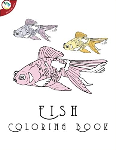 Amazon.com: Fish Coloring Book for Adults (9781517799335 ...
