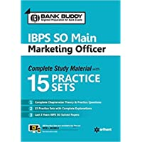 IBPS SO Main Marketing Officer Complete Study Material with 15 Practice Sets
