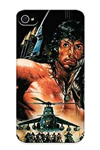 Awesome Design Papel De Parede Rambo Iii Hard Case Cover For Iphone 4/4s