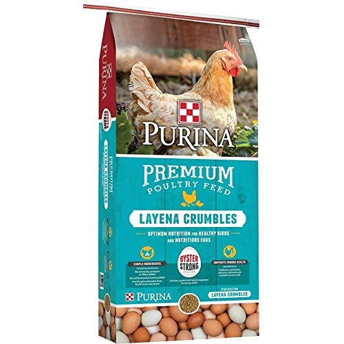 Purina Layena Premium Layer Feed Crumbles, 25 Pound Bag