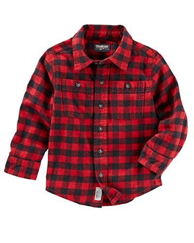 Plaid Boys Shirt - 9