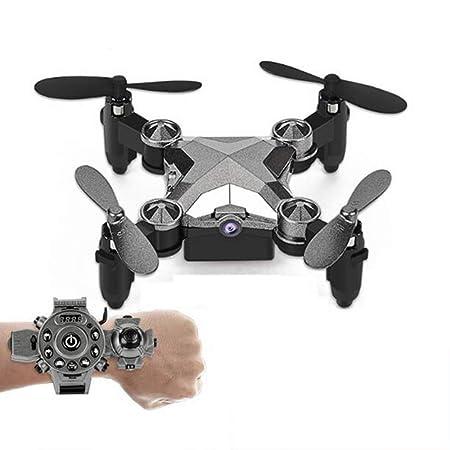GYKFY Control Remoto Drone Mini helicóptero portátil con Reloj ...