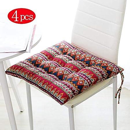 Cuscini Per Sedersi.Tmxwhyq Cuscino Per Sedile 4 Pezzi Cuscini Per Sedie Cuscini Per