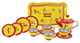 Schylling Curious George Tin Tea Set by Schylling