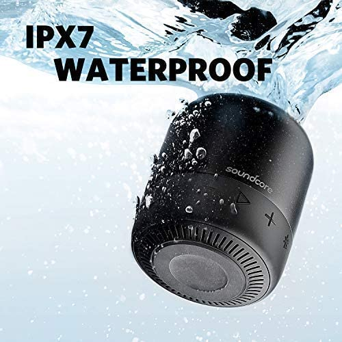 Anker Soundcore Mini 2 Pocket Bluetooth Speaker 2Pack with 15Hour Playtime IPX7 Waterproof Wireless