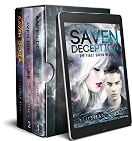 The Saven Series Box Set: Alien Sci-Fi Romance - Books 1 & 2 & Novella by [Davis, Siobhan]