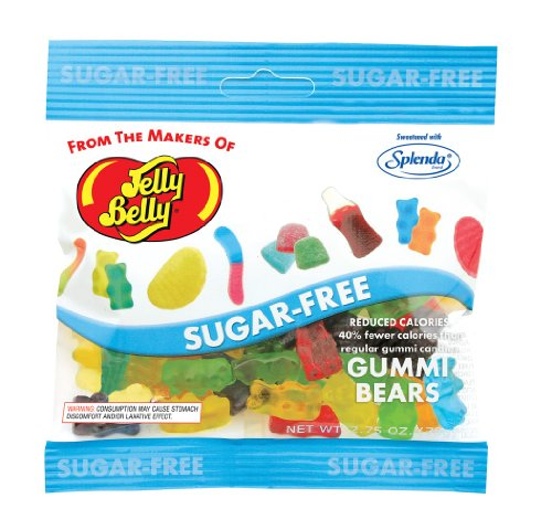 Jelly Belly Gummi Bears Sugar Free 2.8oz