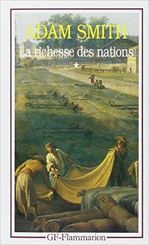 Livre gratuits en ligne La Richesse des nations. Tome I pdf, epub ebook