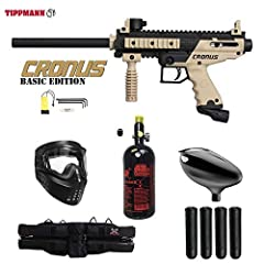 The new Tippmann Cronus combines high performance with incredible durability in a milsim body. The Cronus features our reliable in-line bolt system in a high-impact composite body with soft over molded rubber grips. This marker is easi...