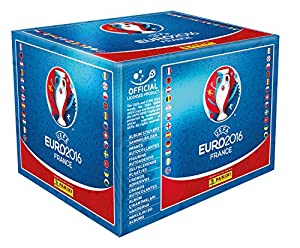 Panini Euro 2016 Sticker Display mit 100 Tüten