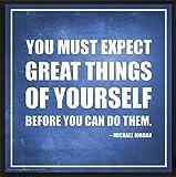 Best Culturenik Things - Michael Jordan Expect Great Things Inspirational Motivational Sports Review