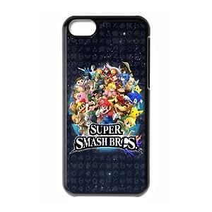 LJF phone case iphone 6 plus 5.5 inch Phone Case Super Mario Bros F5C7659