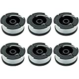 "LBK 0.065"" Spool for BLACK+DECKER String Trimmers ( Replacement Autofeed Spool) , compatible with BLACK+DECKER AF-100 , 6-Pack"