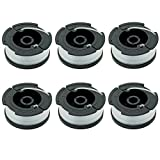 LBK 0.065'' Spool for BLACK+DECKER String Trimmers ( Replacement Autofeed Spool) , compatible with BLACK+DECKER AF-100 , 6-Pack