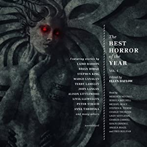 The Best Horror of the Year, Volume 4 Audiobook