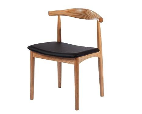 Strange Amazon Com Mod Made Mid Century Modern Solid Wood Dining Creativecarmelina Interior Chair Design Creativecarmelinacom