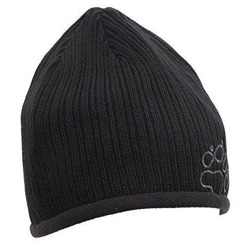 Lined Mens Fleece Stormlock Grey Jack Rap Hat Beanie Black Wolfskin Wool Rip 7OwYBS