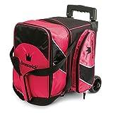 Brunswick Edge Single Roller Bowling Bag, Pink For Sale