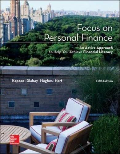 Focus on Personal Finance (Mcgraw-Hill/Irwin Series I Finance, Insurance, and Real Estate)