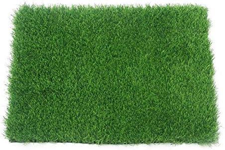 GAPING 2色で利用できる人工的な草の人工的な泥炭の高さ10mmの壁の装飾のカーペット (Color : Dark green, Size : 2x3m)