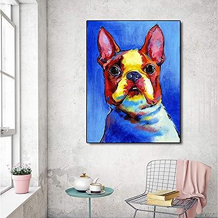 Lindos perritos y carteles de perros para mascotas Lienzo ...