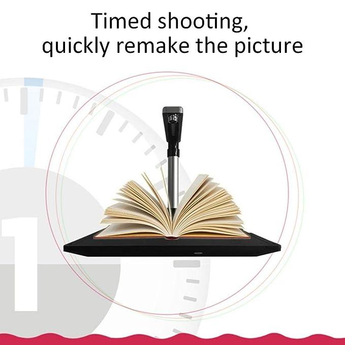 Fancylande Esc/áner HD Alta Velocidad USB Libro Imagen Documento C/ámara con Lente MAX A3 Exploraci/ón Tama/ño con OCR Ajustable Esc/áner