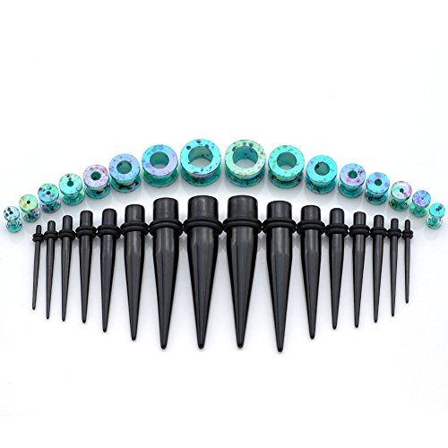 PiercingJ Acrylic Stretching Colorful Included product image