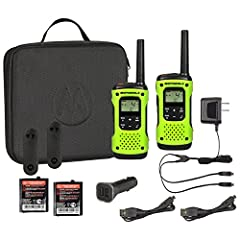 Stay connected during your wildest outdoor adventures. With a rugged, fully waterproof design, emergency features and a 35-mile range, the T605 H2O keeps you connected and protected during your extreme outdoor activities. The T605 H20 is pack...