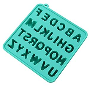 Ice Cube Tray Molds Silicon Alphabet Ice Cube Tray