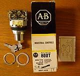 Allen Bradley 800T-J42B Ser T Nema Type 4, 13 Selector Switch - 3 Position Maintained Cylinder Lock
