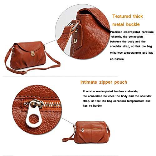 Cross Cuir Main,sac à Loisirs Browna Petit Designer Sacs à Sacs Main Body En Paquet Carré Bag Bandoulière Femme Véritable à Vintage 0qnPE5w4