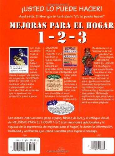 Mejoras para el hogar 1-2-3: consejos expertos del Home Depot: The Home Depot: 9780696208836: Amazon.com: Books